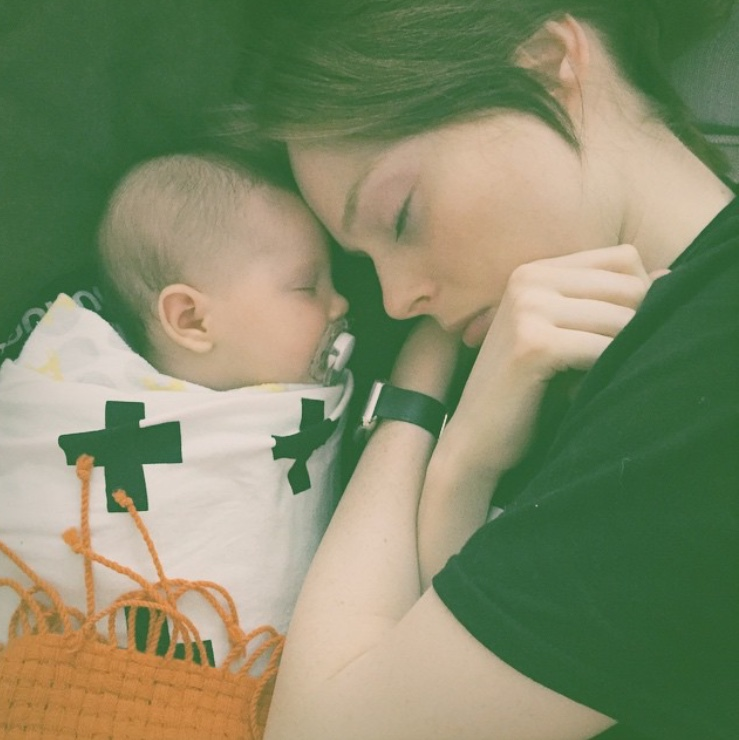THE REBEL MAMA'S GUIDE TO SURVIVING EARLY MOTHERHOOD