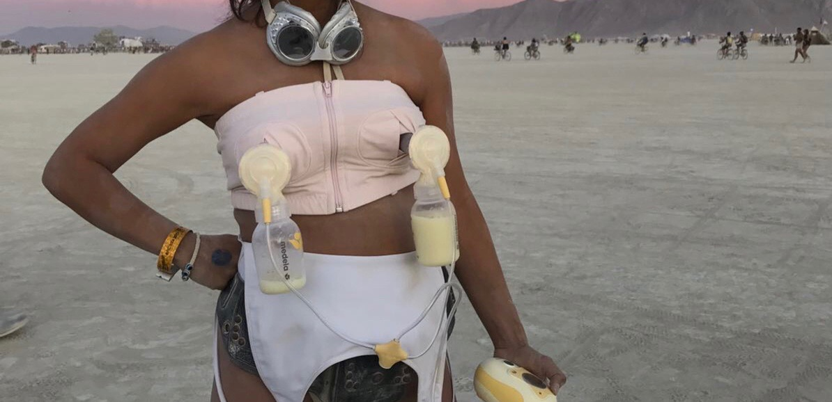 IN RESPONSE TO: BURNING MAN BREAST MILK DRAMA